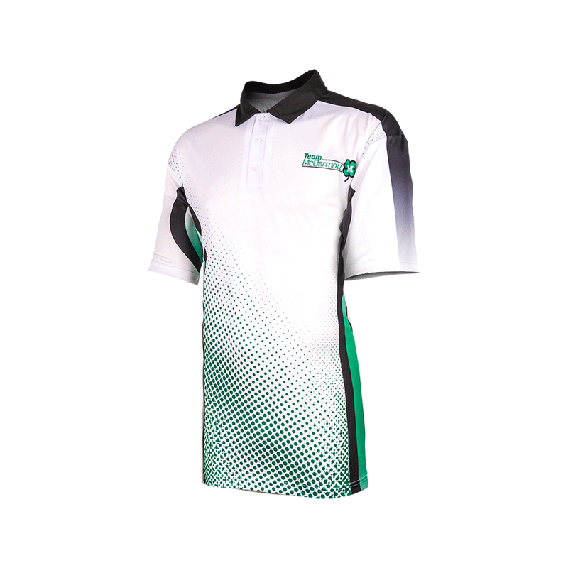 100% Polyester Wicking Moisture With Sublimation