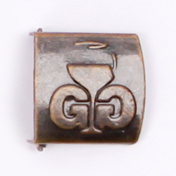Debossed Brass Buckle